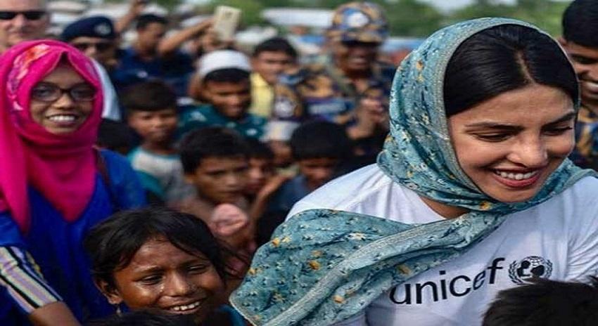 Photo of پریانکا چوپڑاکی بنگلہ دیش میں مقیم مظلوم روہنگیا مہاجرین سے ملاقات