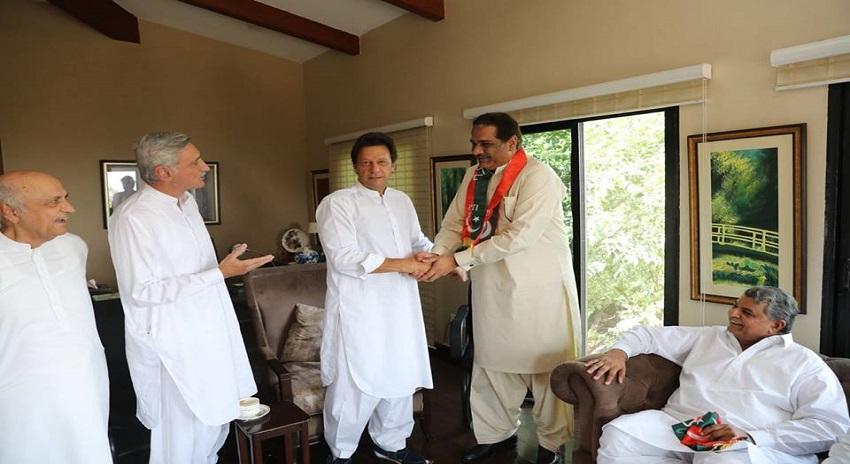 Photo of عمران خان نے مسلم لیگ (ن) کی 3 اہم وکٹیں اُڑا دیں، رضاحیات ہراج بھی شامل