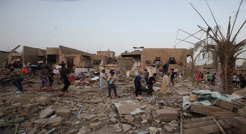 Photo of بغداد کی مسجد میں دو بم دھماکوں میں 18 افراد جاں بحق