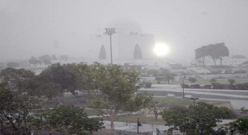 Photo of کراچی کے مختلف علاقوں میں مون سون کی پہلی بارش