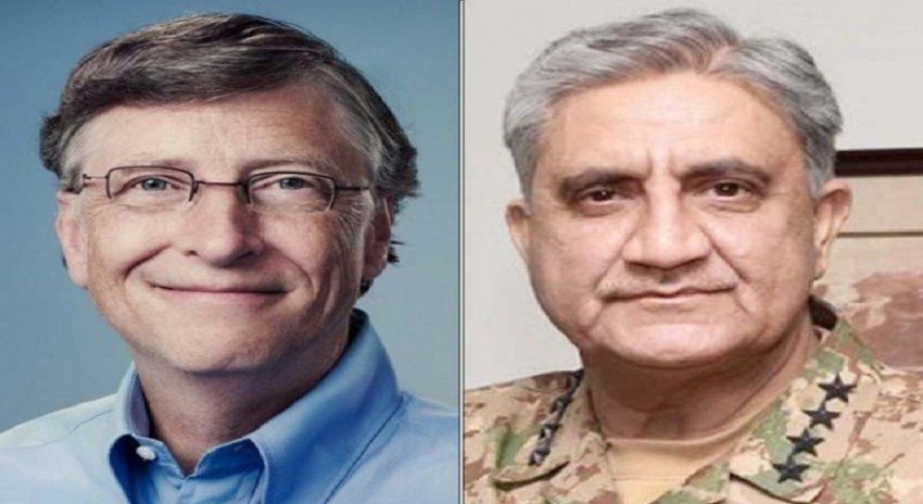 Photo of بل گیٹس کا پاکستانی سپہ سالار کو ٹیلی فون، دنیا کے امیر ترین شخص نے پاک فوج کے سربراہ سے کیا کہا، جان کر آپ بھی فخر۔۔۔