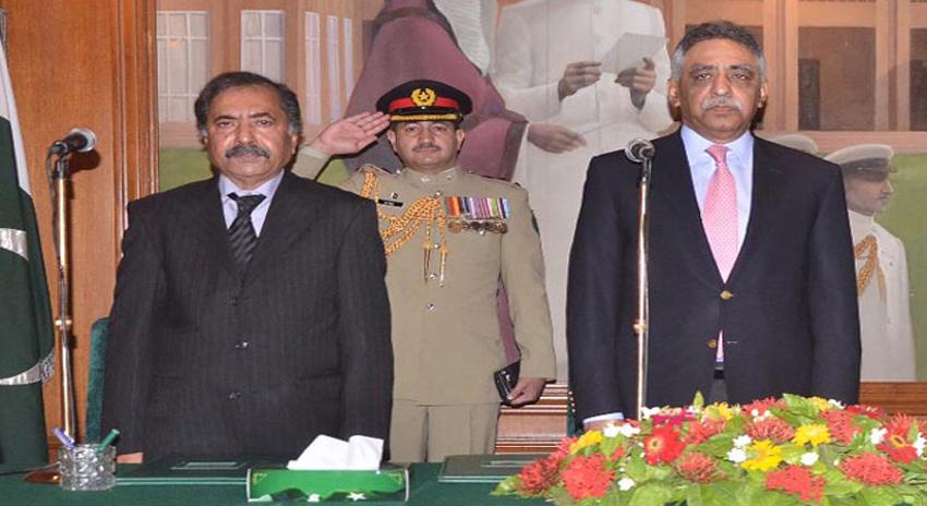 Photo of حلف اٹھانے کے بعد نگراں وزیراعلیٰ سندھ فضل الرحمان کی گورنر سندھ سے ملاقات