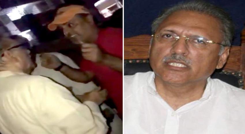 Photo of کراچی، پی ٹی آئی کے رہنما عارف علوی کو بھی ووٹرز نے کھری کھری سنا دیں