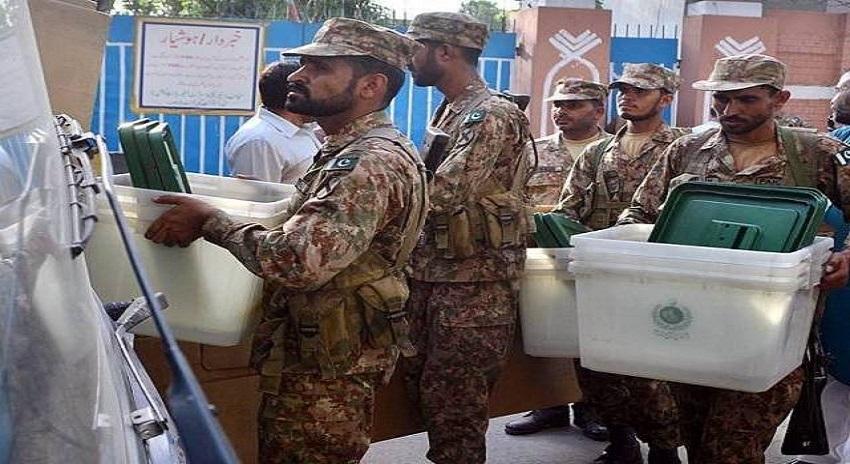 Photo of عام انتخابات 2018 کیلیے پاک فوج کی تربیت کا شیڈول تیار