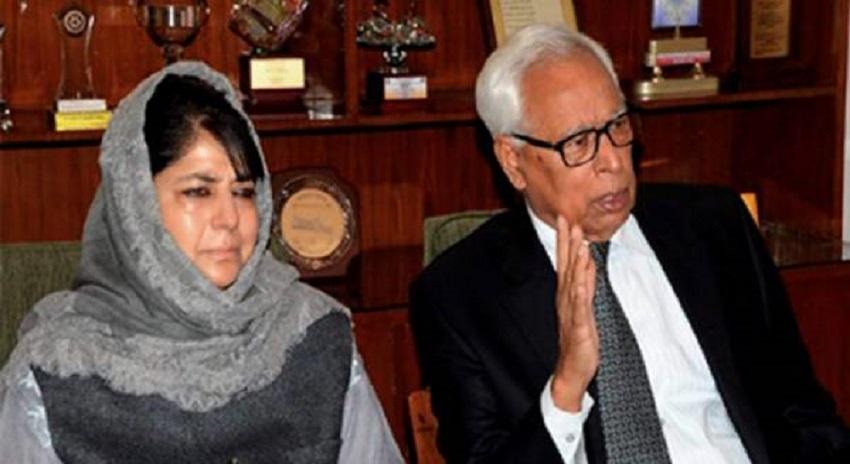 Photo of محبوبہ کا استعفیٰ، مقبوضہ کشمیر میں گورنر راج نافذ