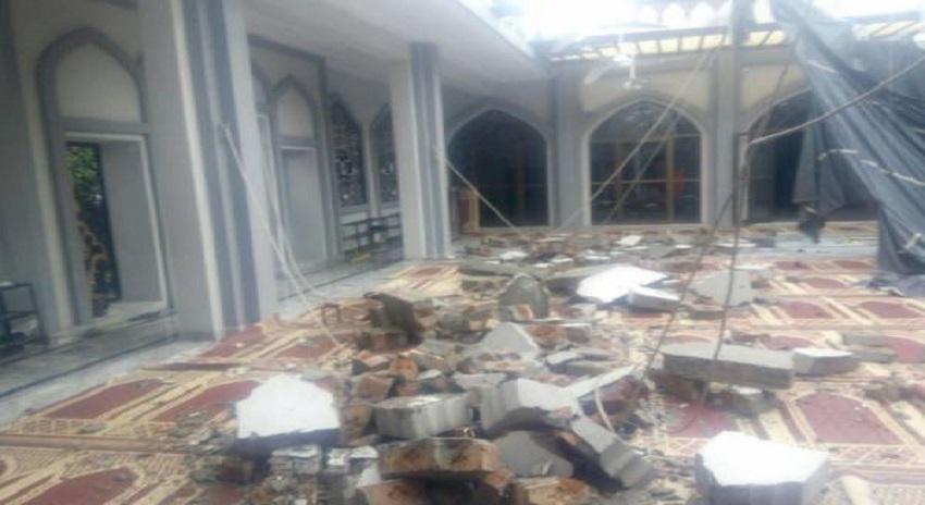 Photo of نماز جمعہ کے دوران 2 مسجدوں کی دیواریں گر گئیں ، 13 افراد زخمی