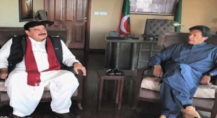 Photo of عمران خان اور شیخ رشید میں ملاقات، موجودہ ملکی صورتحال پرتبادلہ خیال کیا گیا