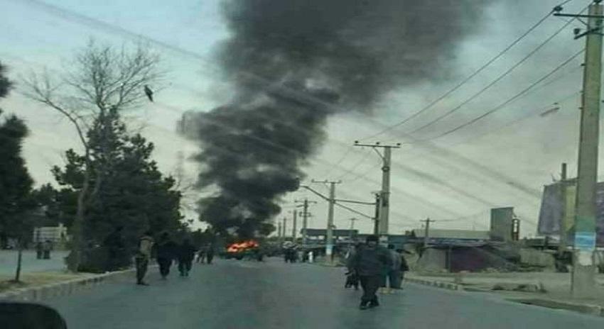 Photo of افغانستان میں امریکی فوجی قافلے پر کار بم حملے میں 5 افراد ہلاک