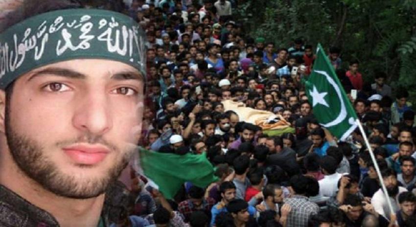Photo of برہان وانی کی دوسری برسی، کشمیر میں مکمل ہڑتال، مظاہرے