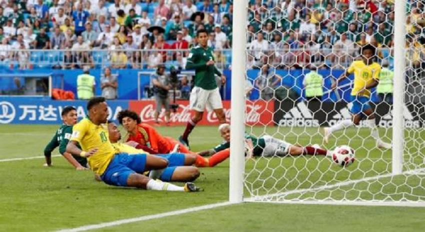 Photo of برازیل نے میکسکو کو شکست دے کر کوارٹر فائنل میں رسائی حاصل کرلی