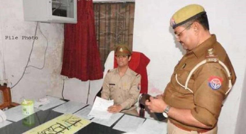 Photo of بھارت، پولیس سٹیشن میں2 محبت بھرے دلوں کا ملن