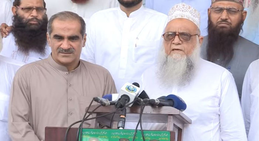 Photo of ایم ایم اے میں شامل ساجد میر کا (ن) لیگ کو ووٹ دینے کا اعلان