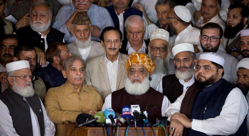 Photo of صدارتی الیکشن: مشترکہ امیدوار لانے کیلئے اپوزیشن سر جوڑ کر بیٹھ گئی
