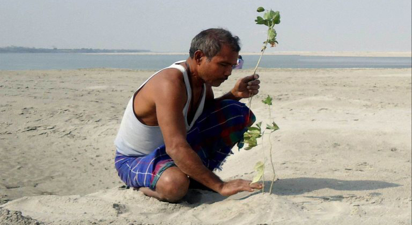 Photo of باہمت شخص نے 40 برس تک مسلسل درخت لگا کرجزیرے کو تبدیل کردیا