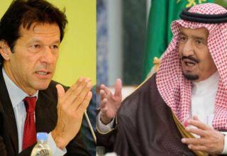 عمران خان اور شاہ سلمان