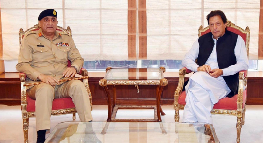 Photo of وزیراعظم سے آرمی چیف جنرل قمر جاوید باجوہ کی ملاقات، ملکی سلامتی پر تبادلہ خیال