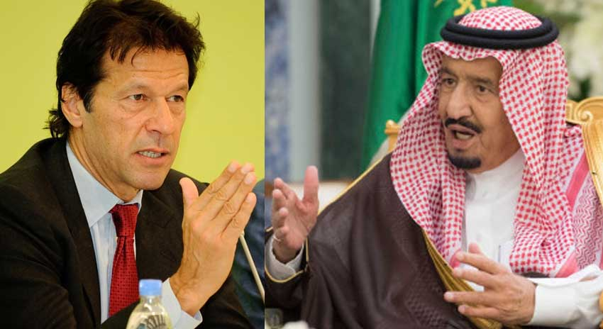 Photo of وزیراعظم عمران خان کی سعودی فرمان روا شاہ سلمان سے ملاقات
