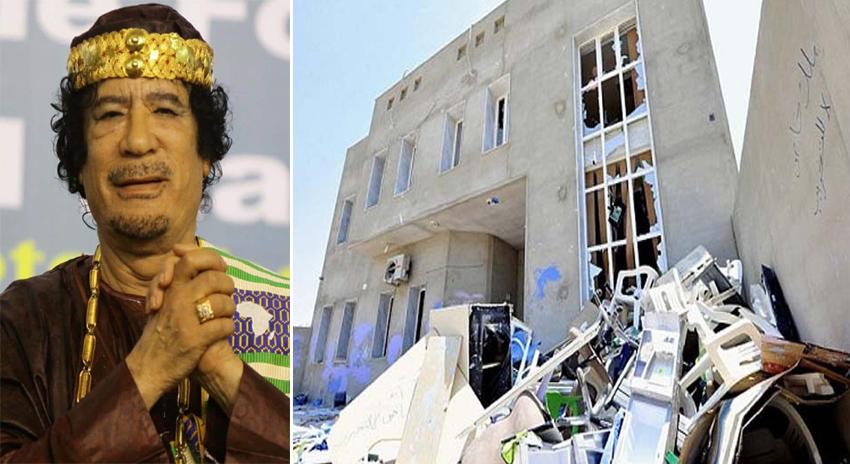 Photo of لیبیا کی جیل سے معمر قذافی کے سیکڑوں حامی فرار