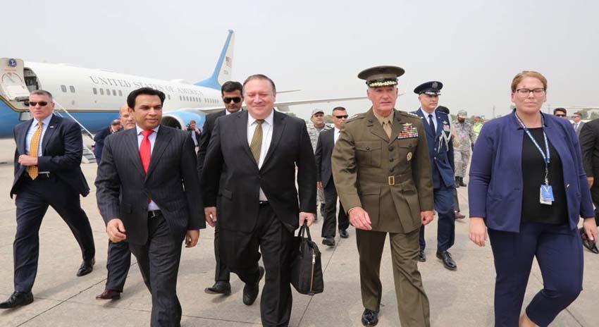 Photo of امریکی وزیر خارجہ کی پاکستان آمد، وزیراعظم اور آرمی چیف سے ملاقات
