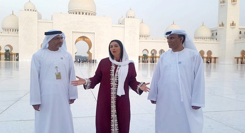Photo of اسرائیلی وزیر ثقافت و کھیل کا جامعہ مسجد ابوظہبی کا دورہ