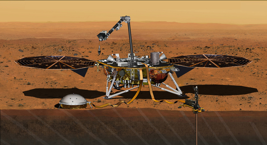 Photo of ناسا کا بغیر پائلٹ خلائی جہاز 'انسائٹ' کامیابی سے مریخ پر پہنچ گیا