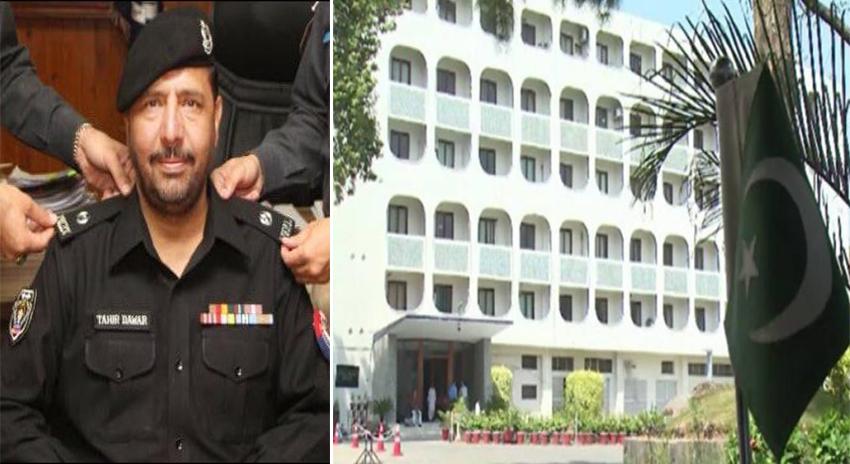 Photo of ایس پی طاہر داوڑ کا قتل: افغان ناظم الامور کی دو بار دفتر خارجہ طلبی