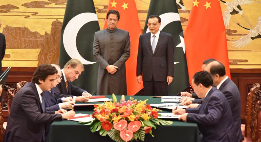 Photo of پاکستان اور چین کے درمیان 15 معاہدوں اور مفاہمتی یادداشتوں پر دستخط