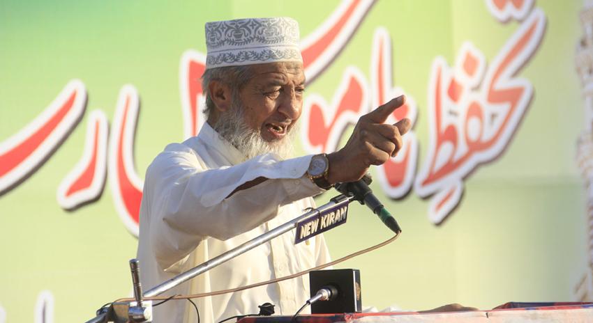 Photo of مصنوعی قیادت و کرپٹ نظام کے ذریعے کوئی تبدیلی نہیں آسکتی، محمد حسین محنتی