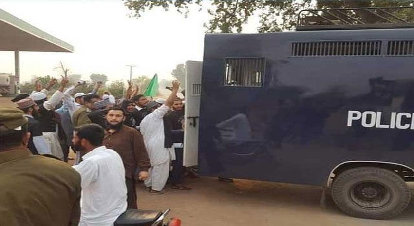Photo of اسلام آباد، لاہور سمیت کئی شہروں میں دھرنا مظاہرین کی پکڑ دھکڑ