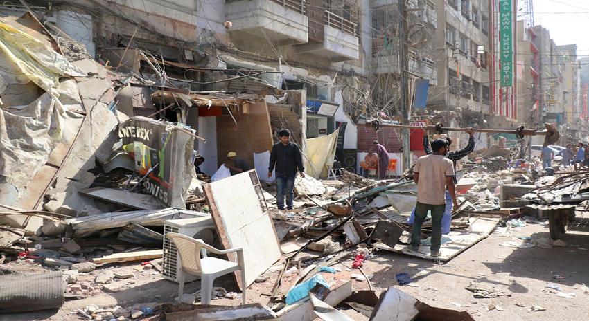 Photo of کراچی، صدر میں تجاوزات کیخلاف آپریشن دوسرے روز بھی جاری