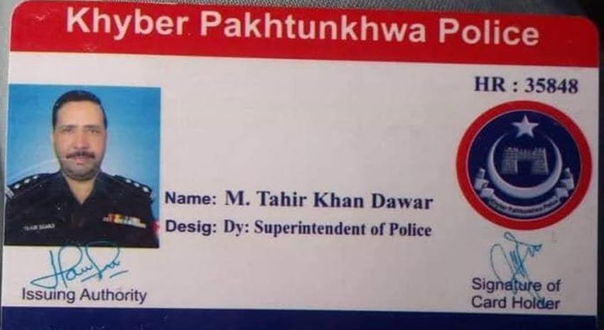 Photo of افغان حکام نے ایس پی طاہر داوڑ کا سروس کارڈ ملنے کی تصدیق کر دی