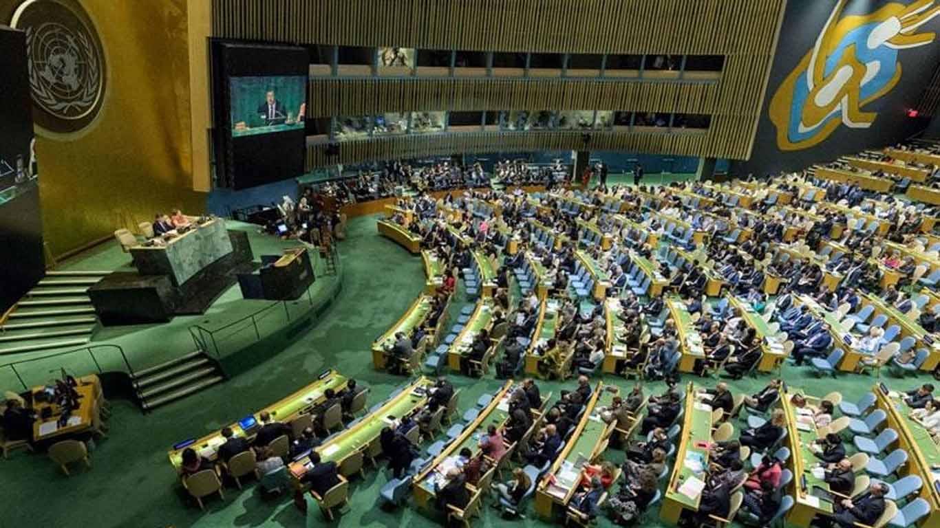 Photo of اقوامِ متحدہ کی جنرل اسمبلی میں حماس کے خلاف امریکی قرارداد مسترد