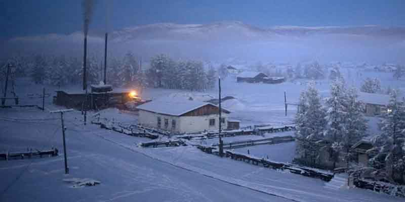Photo of دنیا کا سرد ترین رہائشی مقام، سورج صرف 3 گھنٹے طلوع ہوتا ہے