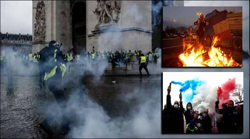Photo of پرتشدد مظاہرے ، فرانسیسی حکومت کا فیول پراضافی ٹیکس واپس لینے کا فیصلہ