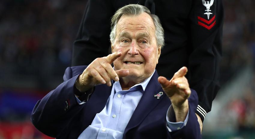 Photo of سابق امریکی صدر جارج بش سینئر 94 برس کی عمر میں انتقال کرگئے