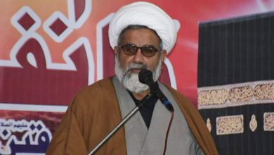 Photo of علی رضا عابدی مظلوموں کے حق میں ظالموں کیخلاف توانا آواز تھی، علامہ ناصر عباس جعفری