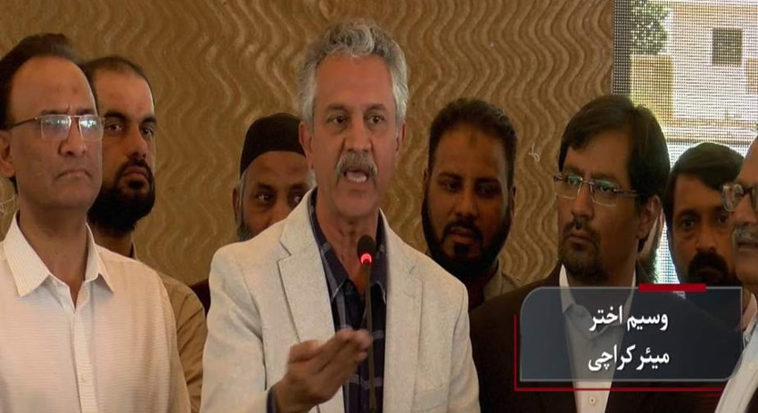 Photo of دوبارہ تجاوزات قائم کرنیوالوں کیخلاف مقدمہ درج کرائیں گے: میئر کراچی