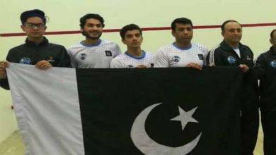 Photo of پاکستان ایشیئن جونیئر اسکواش چیمپیئن شپ فائنل میں بھارت کو شکست