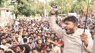 Photo of علی گڑھ مسلم یونیورسٹی میں پاکستان زندہ باد کے نعرے، 14 طلباء پر بھارت سے غداری کا مقدمہ درج