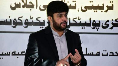 Photo of پیپلز پارٹی ایم کیو ایم کی لڑائی نے پورے سندھ میں بے ضابطگیوں کی مثالیں قائم کی ہیں، علی حسین نقوی