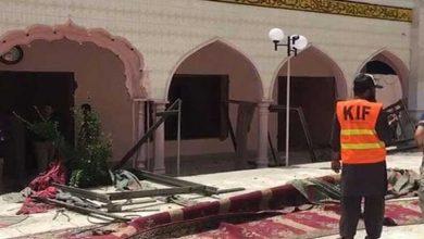 رحمانیہ مسجد میں دھماکہ