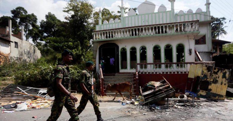 سری لنکا میں مسلم کش فسادات