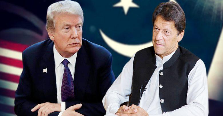 عمران خان ڈونلڈ ٹرمپ