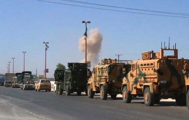 شام میں ترک فوج کے قافلے پر فضائی حملہ، 3 افراد ہلاک اور متعدد زخمی