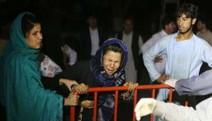 کابل میں شادی کی تقریب میں خودکش بم دھماکا، 63 افراد جاں بحق