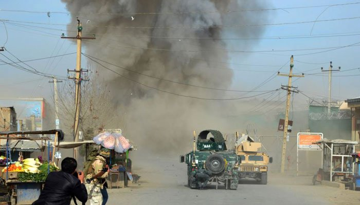 افغان شہر قندوز میں خودکش دھماکا، پولیس ترجمان سمیت 10 افراد ہلاک