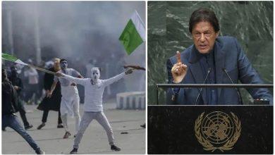 Photo of وزیراعظم عمران خان کی اقوام متحدہ میں تقریر کے بعد مقبوضہ کشمیر میں جشن