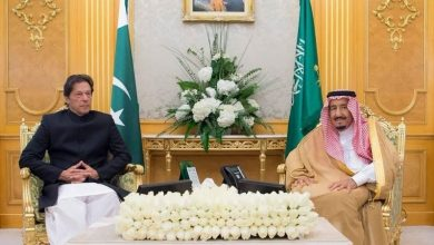 پاکستان کے وزیراعظم کی سعودی فرمانروا سے ملاقات