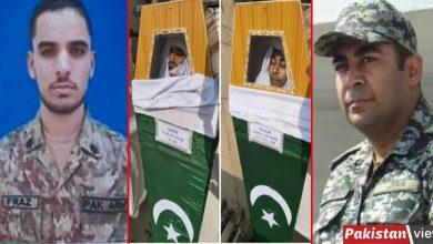 Photo of ہم وطن عزیز کے ان بیٹوں کی قربانی کا قرض کبھی نہیں ادا کرسکتے