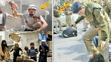 Photo of مظلومین کشمیر اور مظلومین یمن!